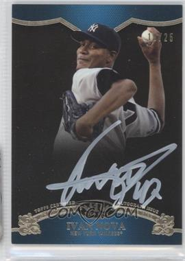 2012 Topps Tier One On the Rise Autograph White Ink [Autographed] #OR-IN - Ivan Nova /25