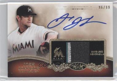 2012 Topps Tier One Top Shelf Autographed Relics [Autographed] #TSAR-JJO - Josh Johnson /99