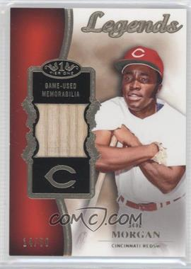 2012 Topps Tier One Top Shelf Legends Relics #TSL-JM - Joe Morgan /50