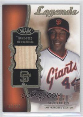 2012 Topps Tier One Top Shelf Legends Relics #TSL-WM - Willie McCovey /50