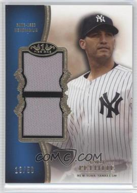 2012 Topps Tier One Top Shelf Relics Dual #TSDR-APE - Andy Pettitte /50