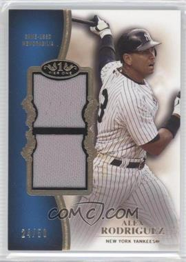 2012 Topps Tier One Top Shelf Relics Dual #TSDR-AR - Alex Rodriguez /50