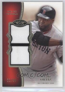 2012 Topps Tier One Top Shelf Relics Dual #TSDR-DO - David Ortiz /50