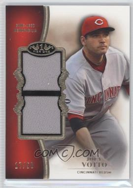 2012 Topps Tier One Top Shelf Relics Dual #TSDR-JVO - Joey Votto /50