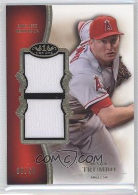 2012 Topps Tier One Top Shelf Relics Dual #TSDR-MT - Mark Trumbo /50