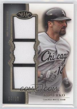 2012 Topps Tier One Top Shelf Relics Triple #TSTR-PK - Paul Konerko /25
