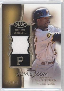 2012 Topps Tier One Top Shelf Relics #TSR-AM - Andrew McCutchen /399
