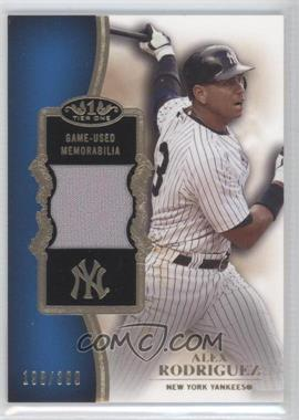2012 Topps Tier One Top Shelf Relics #TSR-AR - Alex Rodriguez /399