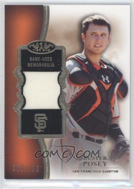 2012 Topps Tier One Top Shelf Relics #TSR-BP - Buster Posey /399