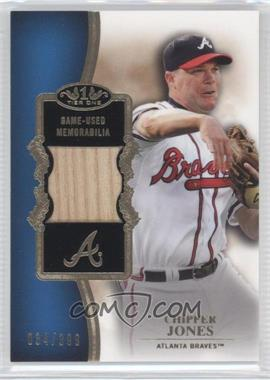2012 Topps Tier One Top Shelf Relics #TSR-CJ - Chipper Jones /399