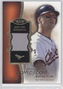 2012 Topps Tier One Top Shelf Relics #TSR-CR - Cal Ripken Jr. /150