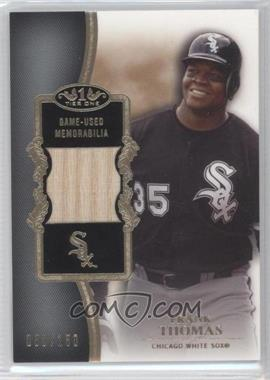 2012 Topps Tier One Top Shelf Relics #TSR-FT - Frank Thomas /150
