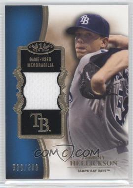 2012 Topps Tier One Top Shelf Relics #TSR-JHE - Jeremy Hellickson /399