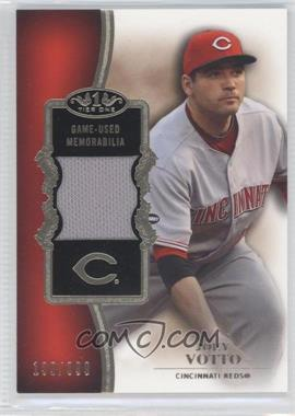 2012 Topps Tier One Top Shelf Relics #TSR-JVO - Joey Votto /399