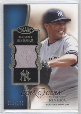 2012 Topps Tier One Top Shelf Relics #TSR-MR - Mariano Rivera /150