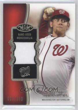 2012 Topps Tier One Top Shelf Relics #TSR-SS - Stephen Strasburg /399
