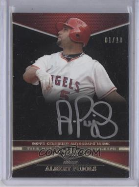2012 Topps Tier One Top Tier Autograph Silver Ink #TTA-AP - Albert Pujols /10