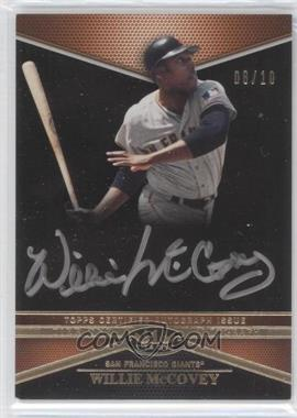 2012 Topps Tier One Top Tier Autograph Silver Ink #TTA-WM - Willie McCovey /10