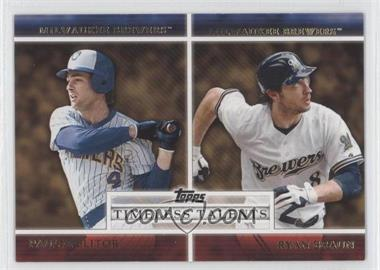 2012 Topps Timeless Talents #TT-1 - Paul Molitor, Ryan Braun