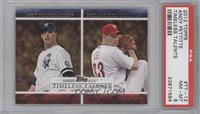Andy Pettitte, Cliff Lee [PSA 8]