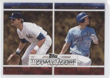 2012 Topps Timeless Talents #TT-3 - Don Mattingly, Eric Hosmer