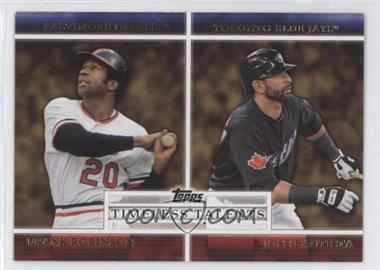 2012 Topps Timeless Talents #TT-8 - Frank Robinson, Jose Bautista