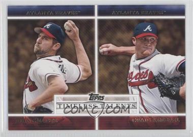 2012 Topps Timeless Talents #TT-9 - John Smoltz, Craig Kimbrel