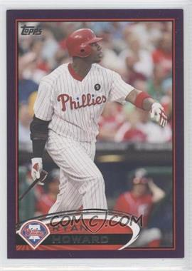 2012 Topps Toys R Us Purple #280 - Ryan Howard