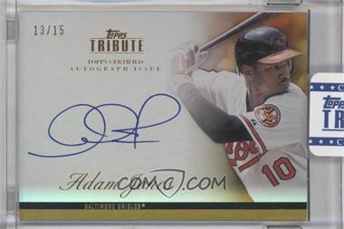 2012 Topps Tribute - Autograph - Gold [Autographed] #TA-AJ - Adam Jones /15