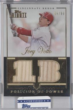 2012 Topps Tribute - Position of Power Relics #PPO-JV - Joey Votto /99