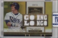 Evan Longoria /15 [ENCASED]