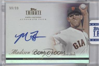 2012 Topps Tribute Autograph [Autographed] #TA-MB2 - Madison Bumgarner /99 [ENCASED]