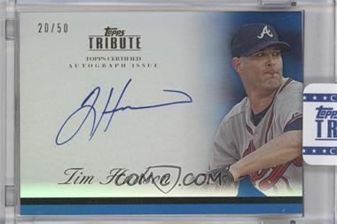2012 Topps Tribute Autograph Blue [Autographed] #TA-THU - Tim Hudson /50