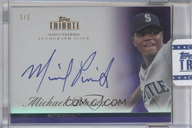 2012 Topps Tribute Autograph Purple [Autographed] #TA-MP2 - Michael Pineda /1