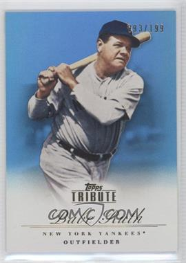 2012 Topps Tribute Blue #93 - Babe Ruth /199