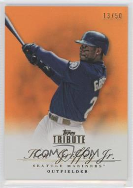 2012 Topps Tribute Orange #65 - Ken Griffey Jr. /50