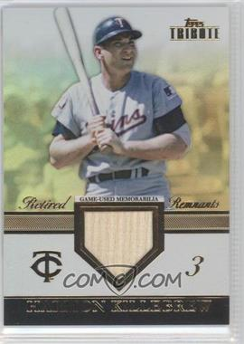 2012 Topps Tribute Retired Remnants Relic Gold Encased #RR-HK - Harmon Killebrew /15
