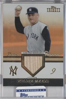2012 Topps Tribute Retired Remnants Relic Orange Encased #RR-RM - Roger Maris /25