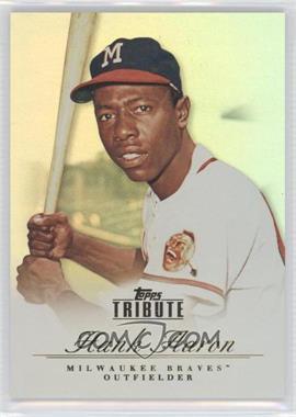 2012 Topps Tribute #1 - Hank Aaron