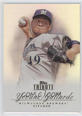 2012 Topps Tribute #21 - Yovani Gallardo