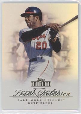 2012 Topps Tribute #69 - Frank Robinson