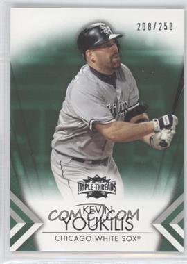 2012 Topps Triple Threads - [Base] - Emerald #62 - Kevin Youkilis /250