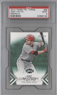 2012 Topps Triple Threads - [Base] - Emerald #96 - Joey Votto /250 [PSA 9]