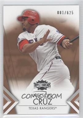 2012 Topps Triple Threads - [Base] - Sepia #84 - Nelson Cruz /625