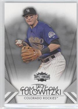2012 Topps Triple Threads - [Base] #13 - Troy Tulowitzki