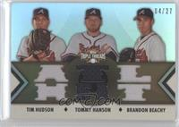 Tim Hudson, Tommy Hanson, Brandon Beachy /27