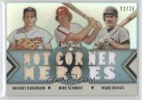 Brooks Robinson, Mike Schmidt, Wade Boggs /36