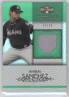 Anibal Sanchez /18