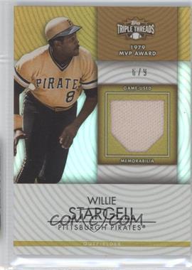 2012 Topps Triple Threads - Unity Relics - Gold #TTUR-82 - Willie Stargell /9
