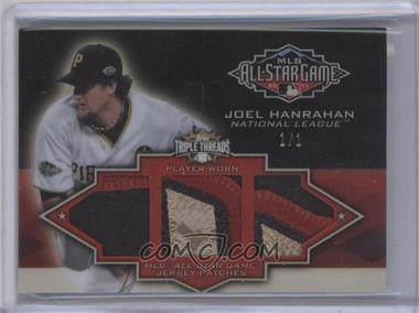 2012 Topps Triple Threads All-Star Game Patch Relics Ruby #TTASP-38 - Joel Hanrahan /1
